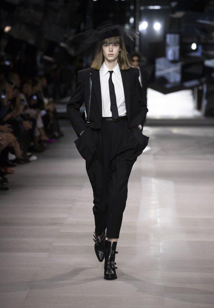 Celine的服裝強調設計不分性別、不分季節。圖/Celine提供