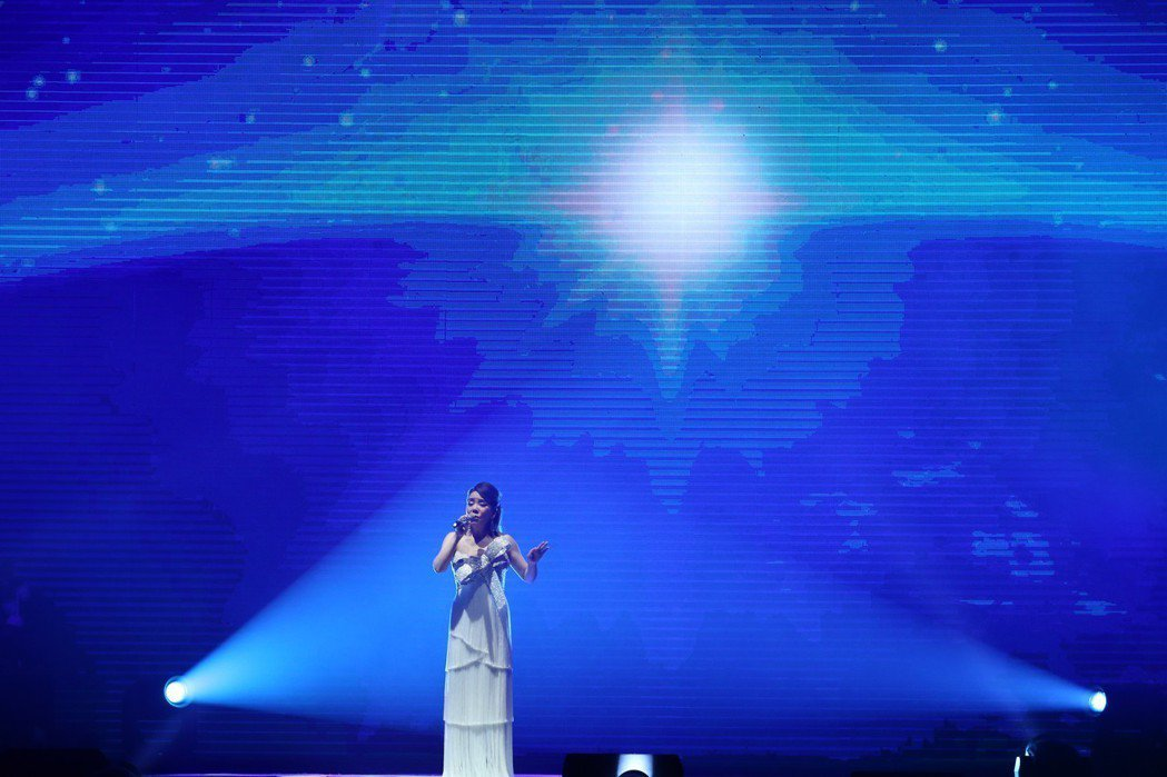 辛曉琪29日在台北小巨蛋開唱。記者葉信菉/攝影