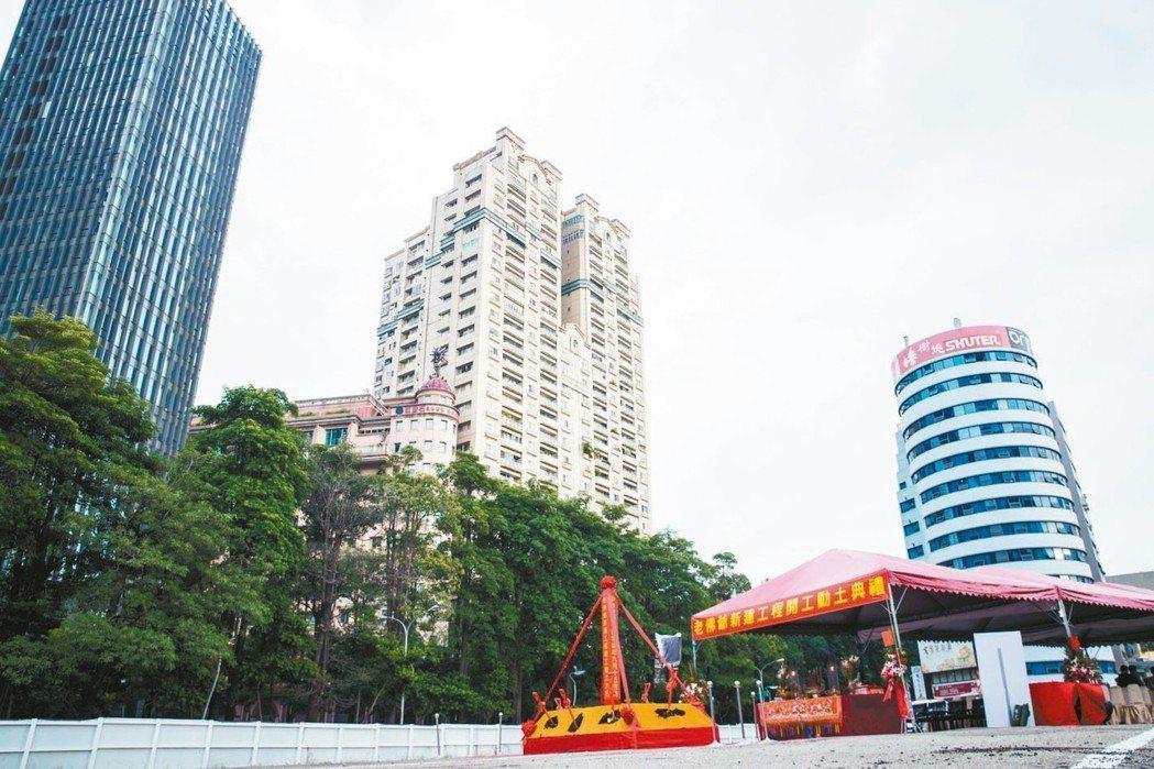 位於科博館草悟道特區的忠泰「老佛爺」總銷100億元,是台中928房市檔期的最大案...