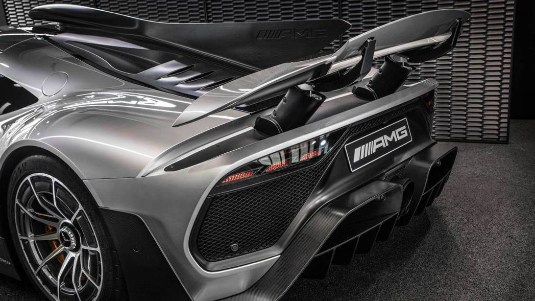 Mercedes-AMG目前的開發,進行到空氣動力性能部份。 摘自Mercedes-AMG