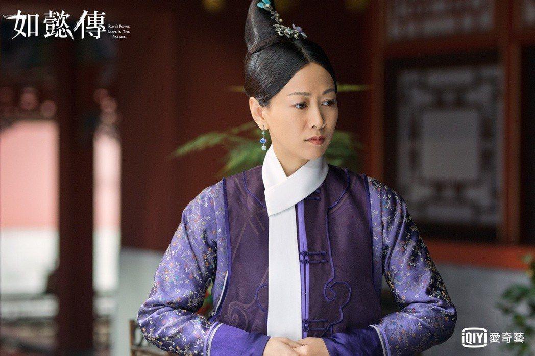 齊歡飾演的「容嬤嬤」是辛芷蕾在「如懿傳」中最喜歡的角色。圖/愛奇藝台灣站提供