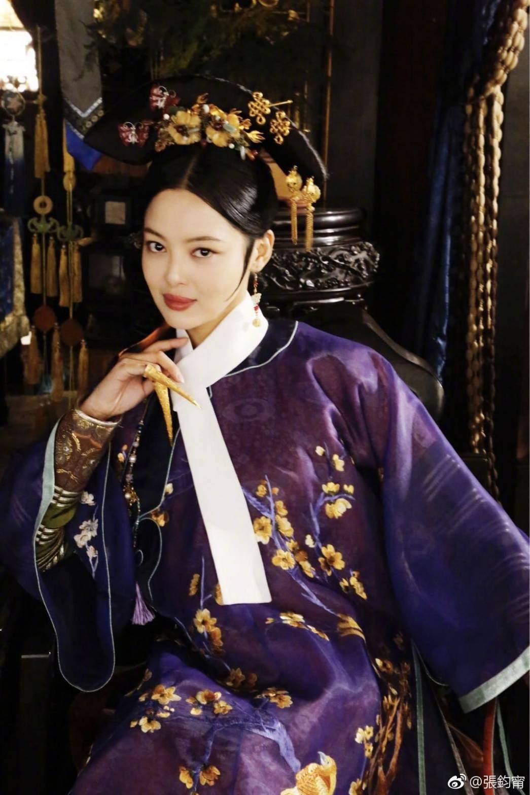 辛芷蕾在「如懿傳」中號稱「後宮第一美」。圖/摘自微博