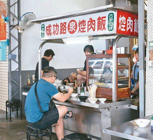 彰化阿泉焢肉是80年老店。 圖/陳立凱攝影
