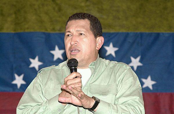 已故的委內瑞拉總統烏戈.查維茲(Hugo Rafael Chávez Frías...