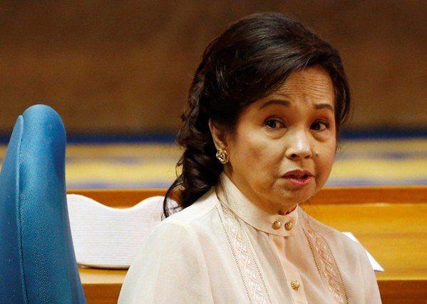 菲律賓前總統艾若育(Gloria Arroyo)。 路透