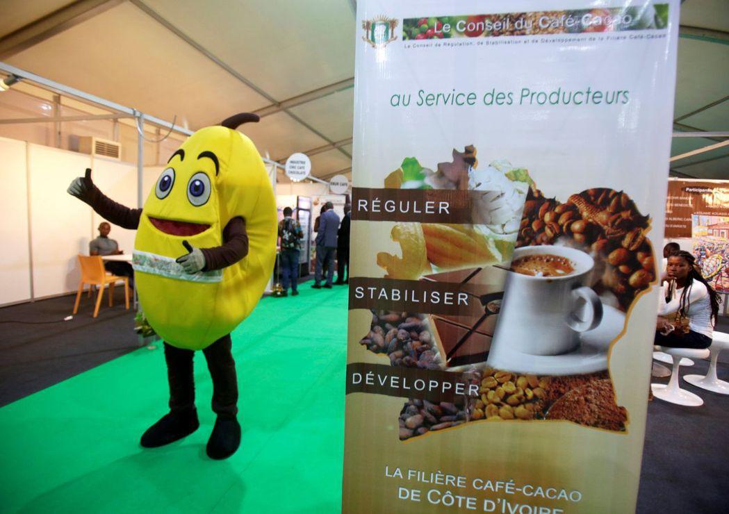 象牙海岸阿必尚9月28日慶祝世界咖啡和巧克力日開幕活動。 路透