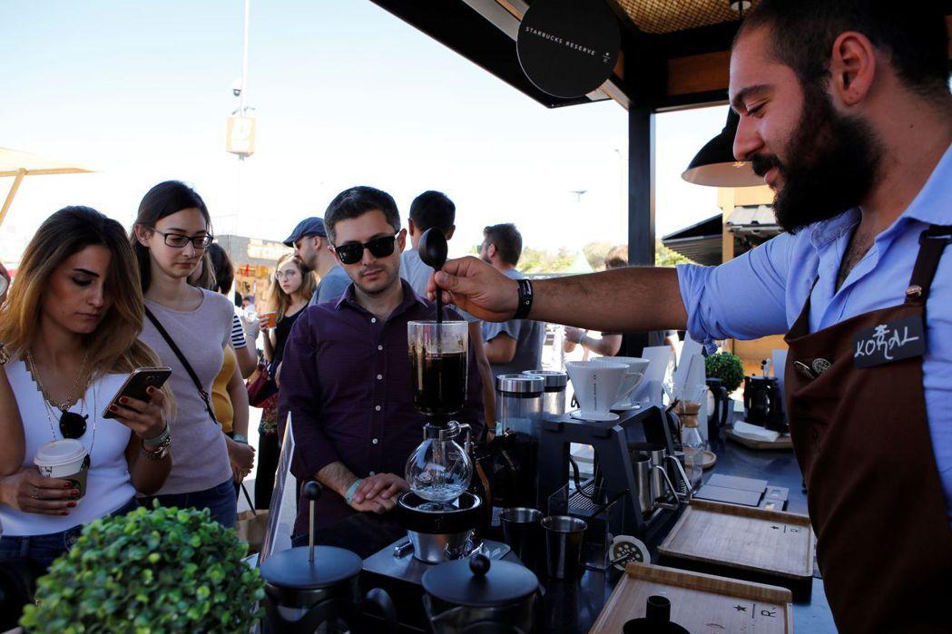 土耳其首都安卡拉9月29日起舉辦三天的咖啡節活動。 新華社