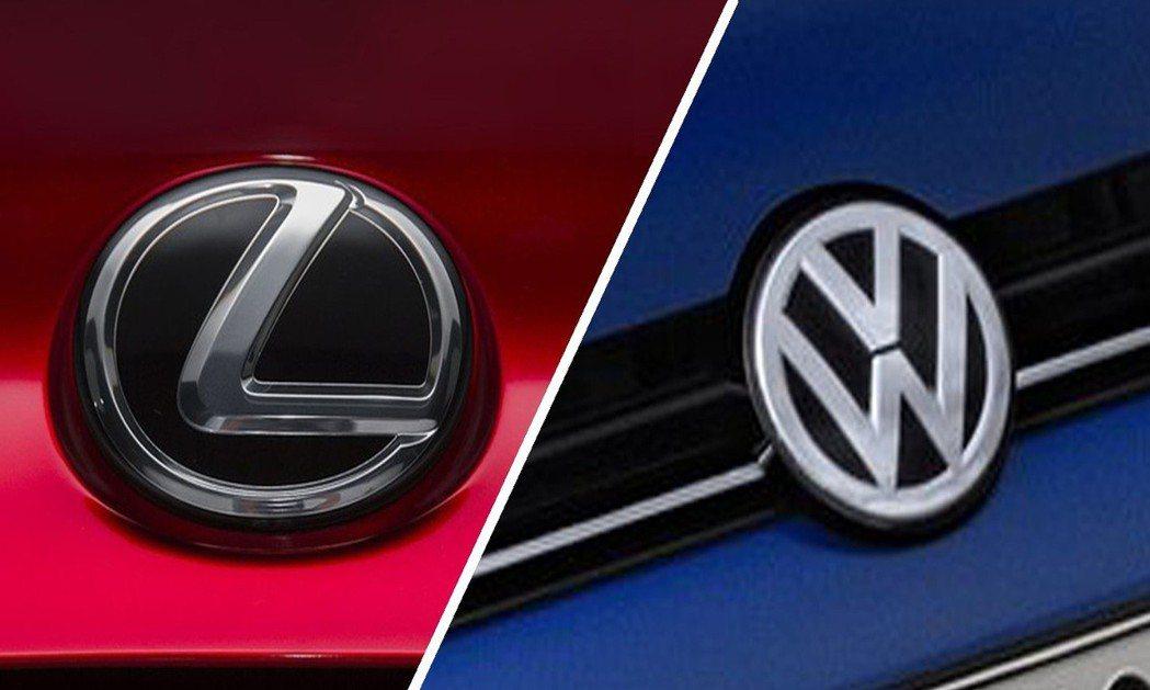 J.D.Power公布今年台灣新車銷售滿意度(SSI)調查結果,豪華車品牌由凌志(Lexus)奪冠,非豪華車品牌則由福斯(Volkswagen)拿下。 摘自Lexus、Volkswagen