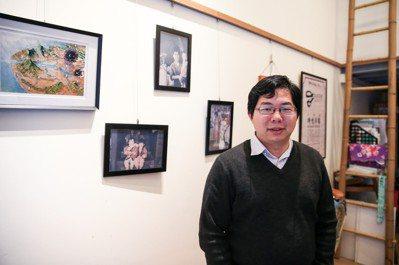 台北城市散步創辦人邱翊。 記者林伯東/攝影