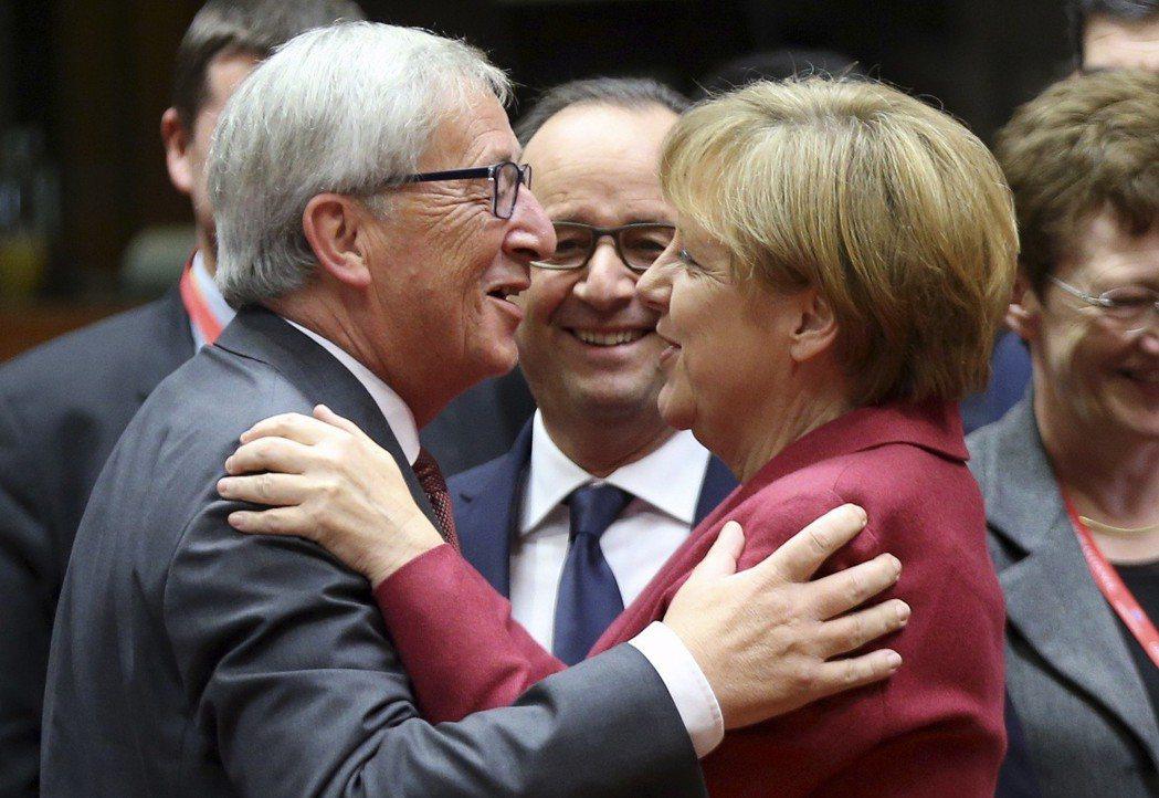 2014年歐洲議會大選,包含德國梅克爾總理所屬的基民盟(CDU)在內的歐洲議員,...