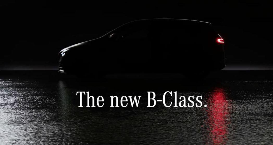 全新Mercedes-Benz B-Class即將發表。 摘自Mercedes