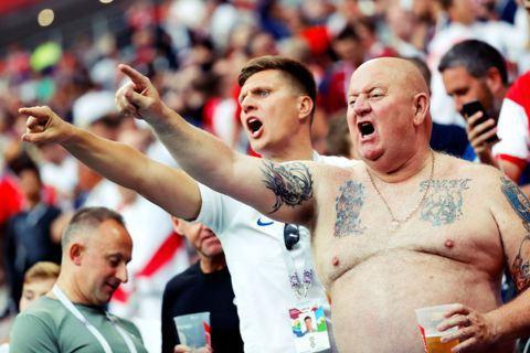 英國人對足球的熱情,恐怕難以只是單純的運動精神足以定義。 圖/歐新社