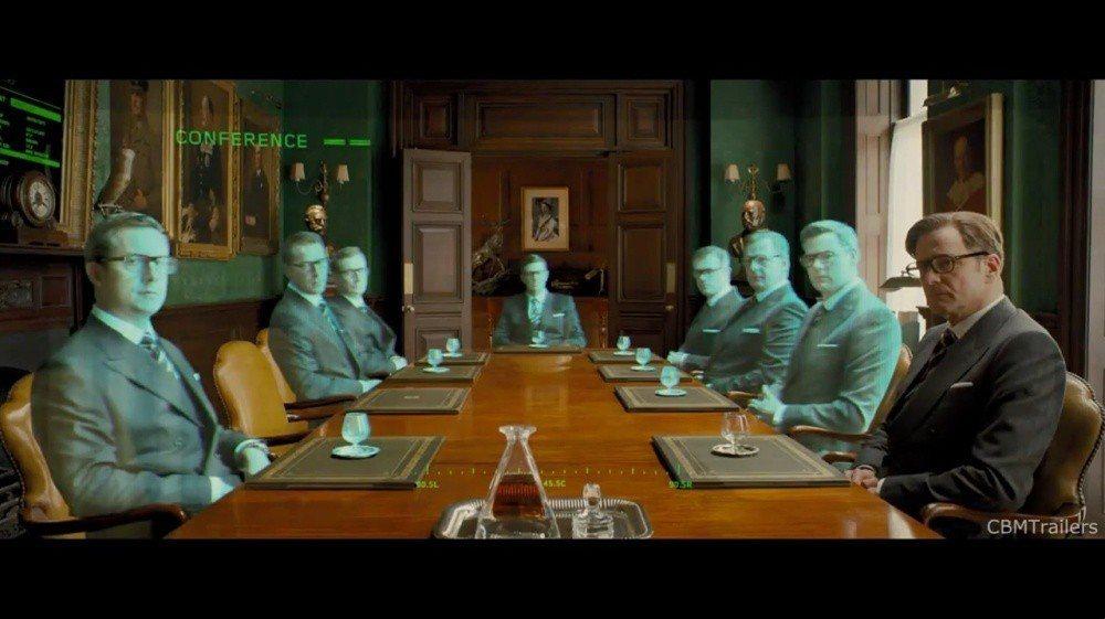 也許未來公司開會中,只有自己真實坐在會議室內,其他人都是透過虛擬連線方式參與 (...