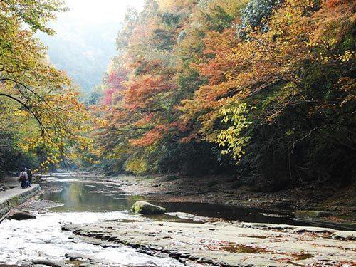 養老溪谷。 圖/Wikimedia Commons