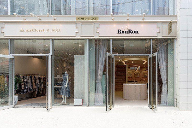 一旁為ABLE經營的服飾店,不論甜點還是時尚,都成為原宿人氣的潮流據點。