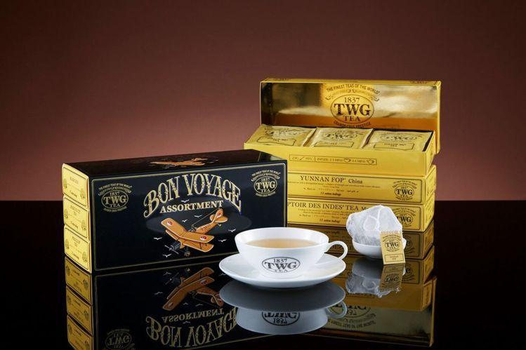 新加坡機場限定款「Bon Voyage環球啟程手工純棉茶包」,台灣也搶下頭香,不...