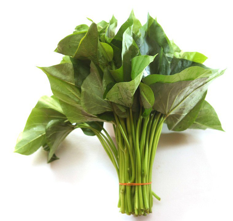 地瓜葉富含高纖維成分,多吃可改善便秘。圖/本報資料照片
