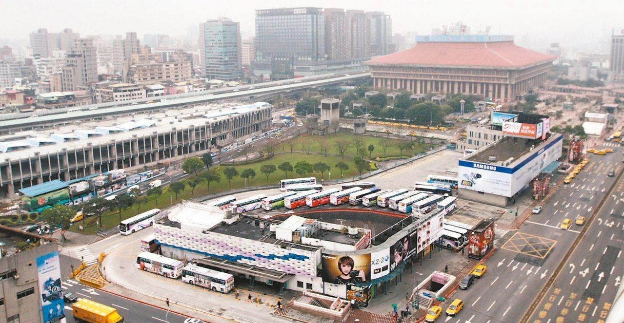 台北雙子星開發案預定地。 圖/聯合報資料照