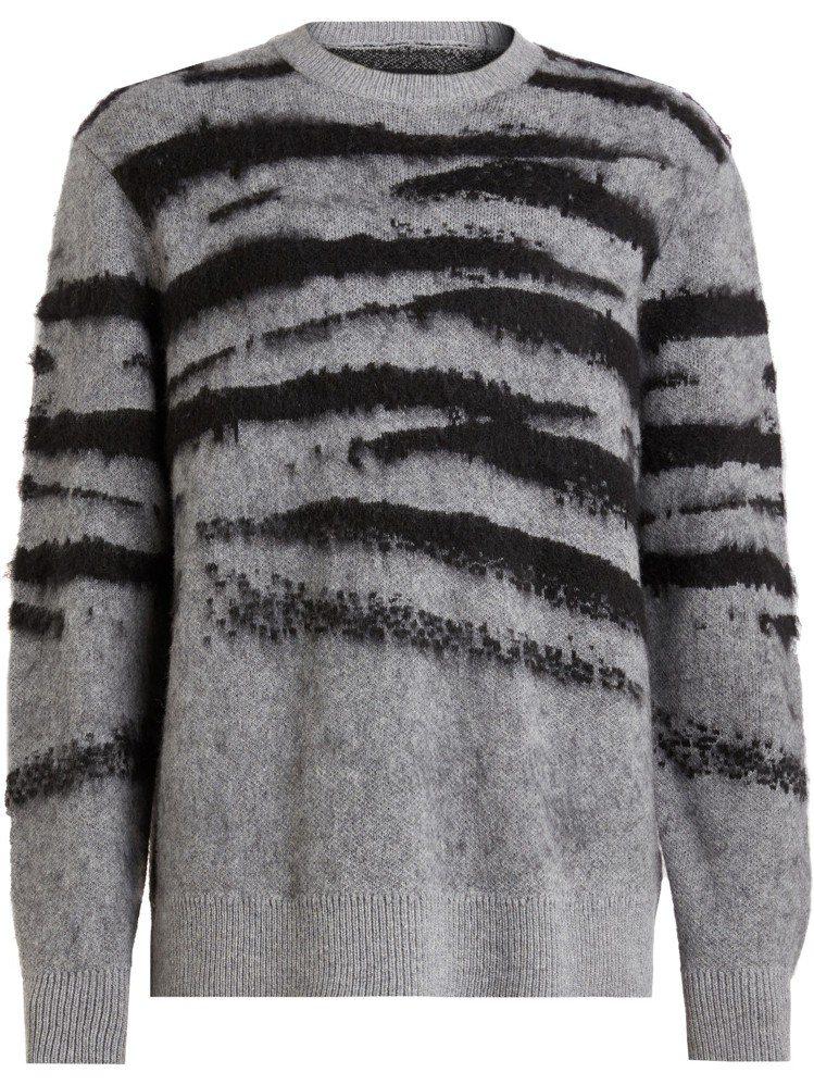 AllSaints Ture塗鴉毛衣,7,600元。圖/AllSaints提供