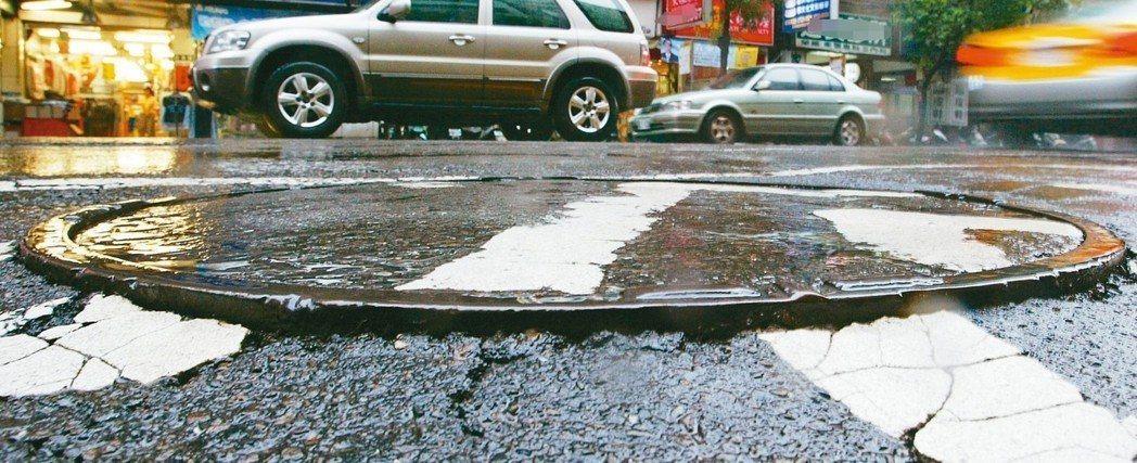 雖然這幾年中央與地方都在推動孔蓋下地,但馬路上仍四處可見孔蓋,讓用路人置於滿布地...