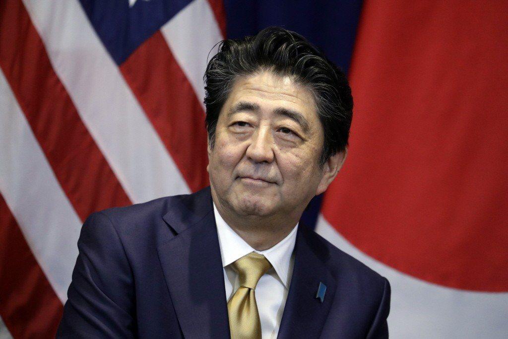日本首相安倍晉三。美聯社