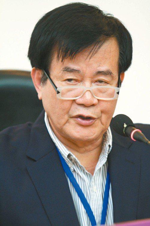 江春男因酒駕丟了駐新加坡代一職。 圖/聯合報系資料照片