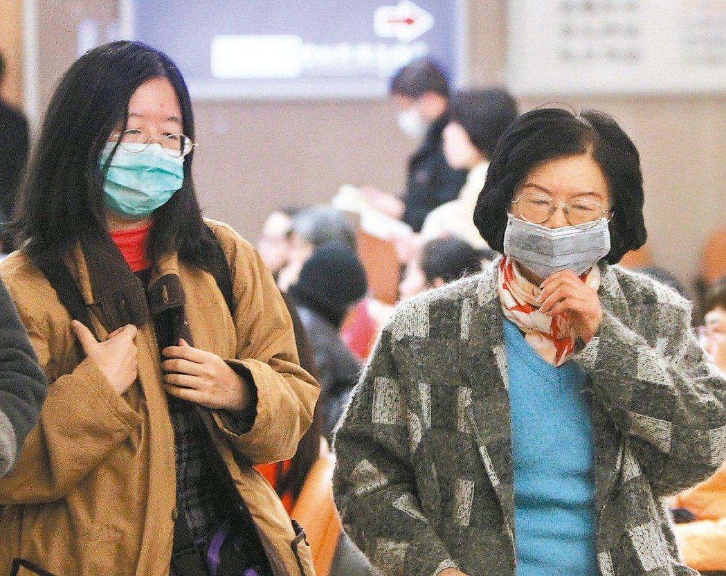天氣開始轉涼,流行性感冒也蠢蠢欲動。 圖/聯合報系資料照片