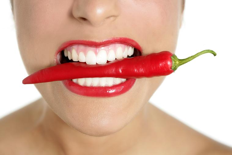人類是唯一真正食用辣椒的雜食動物。 圖/ingimage