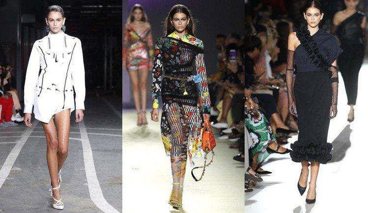 凱亞葛柏這季走了如Valentino、Versace、Max Mara、Off-...