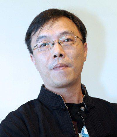 《四方報》總編輯張正。 記者陳易辰/攝影