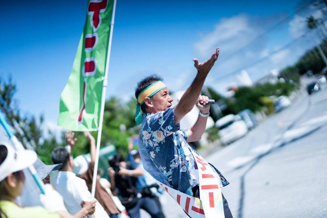 在9月30日舉辦的沖繩知事選舉中,「全沖繩」的玉城Denny獲得了史上最高的39...