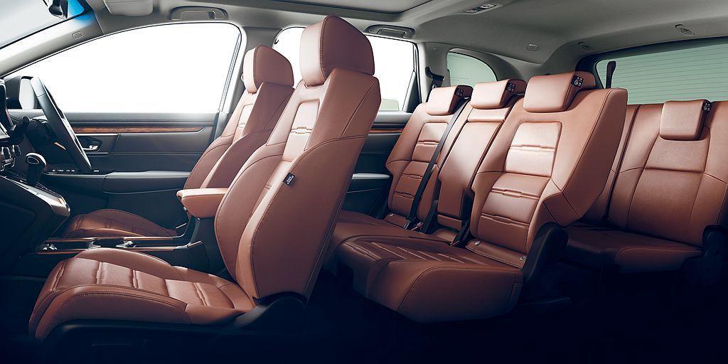 預接單中有多達32%的買家選擇7人座車型。 圖/Honda提供