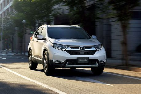 日本都會休旅之爭新Honda CR-V先聲奪人!超過月販售目標4倍