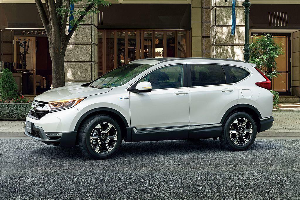 Hybrid複合動力車型總銷售比例占了43%的表現。 圖/Honda提供
