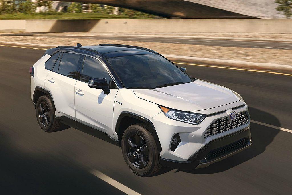 明年全新第五代Toyota RAV4也將重返日本市場,屆時都會休旅銷售競爭才會進...