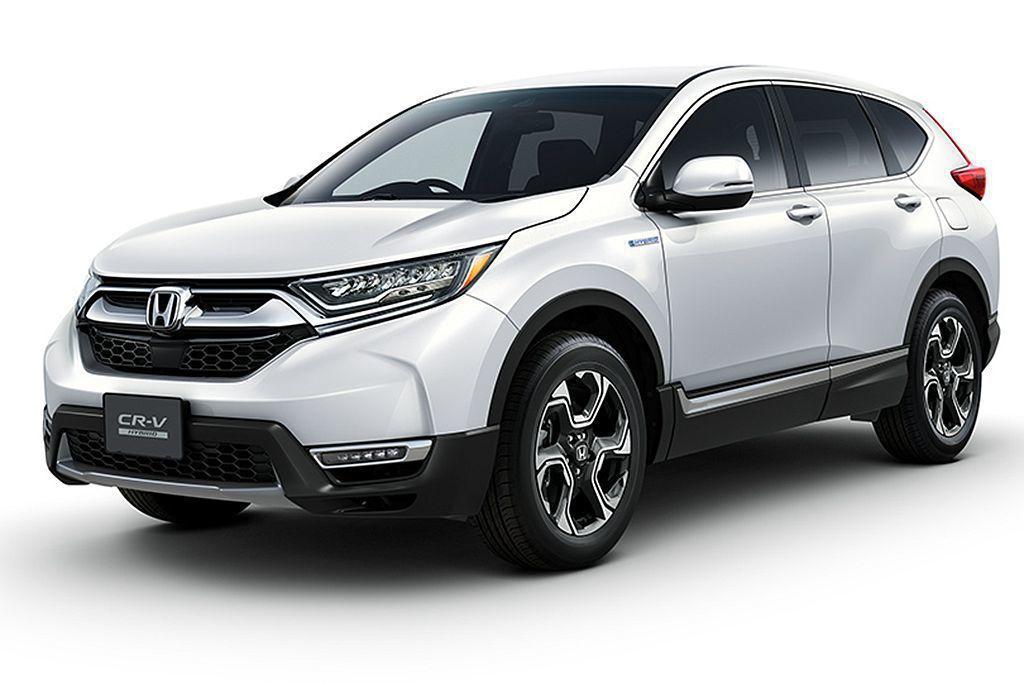 日規全新第五代Honda CR-V,外觀車色有多達42%買家選購珍珠白車色。 圖...