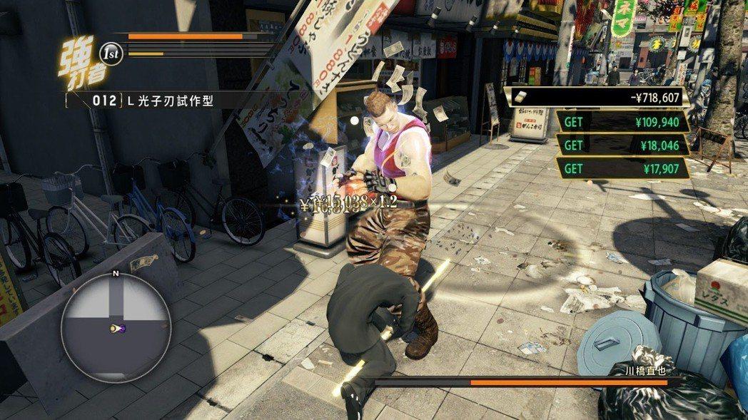遊戲前期十分難纏的勒索哥,實力不足時,看到對方請盡速迴避。