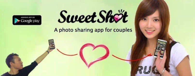 SweetShot讓情侶的照片安全地在雲端共享。圖/翻攝網路