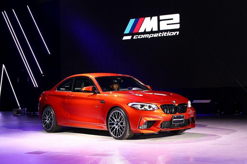 BMW M2 Competition以最快速度登台開賣。 記者張振群/攝影