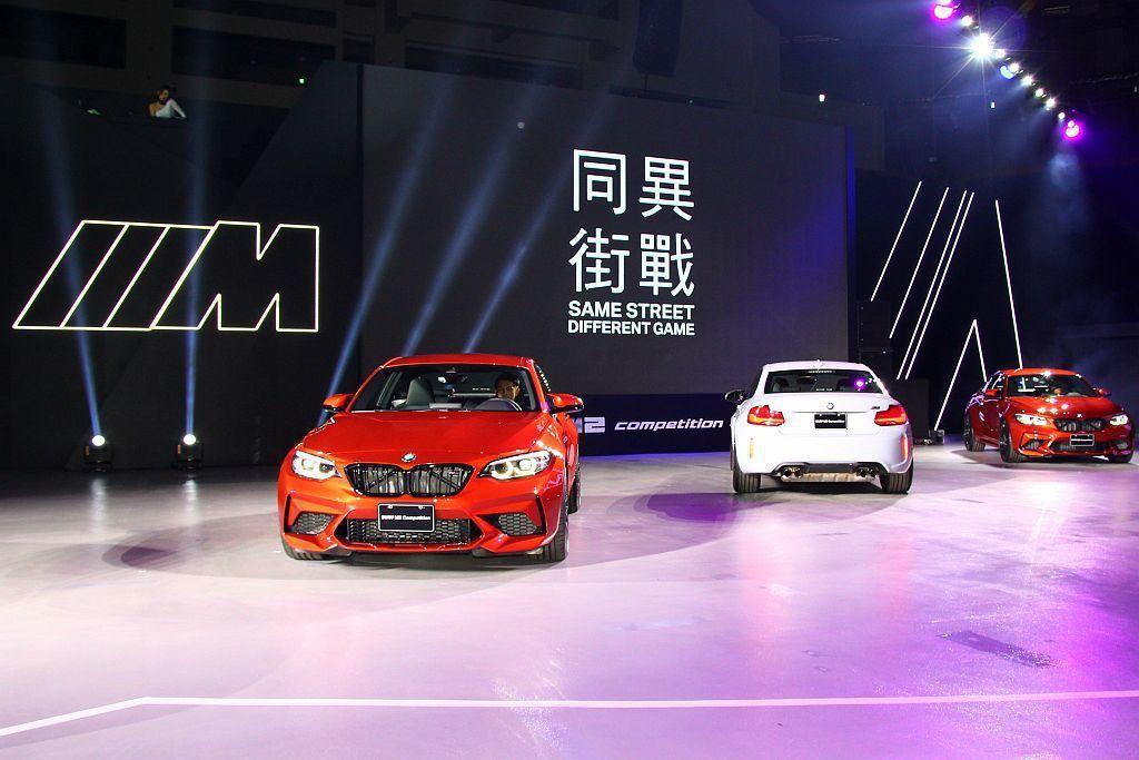 BMW M2 Competition在台售價為385萬台幣。 記者張振群/攝影