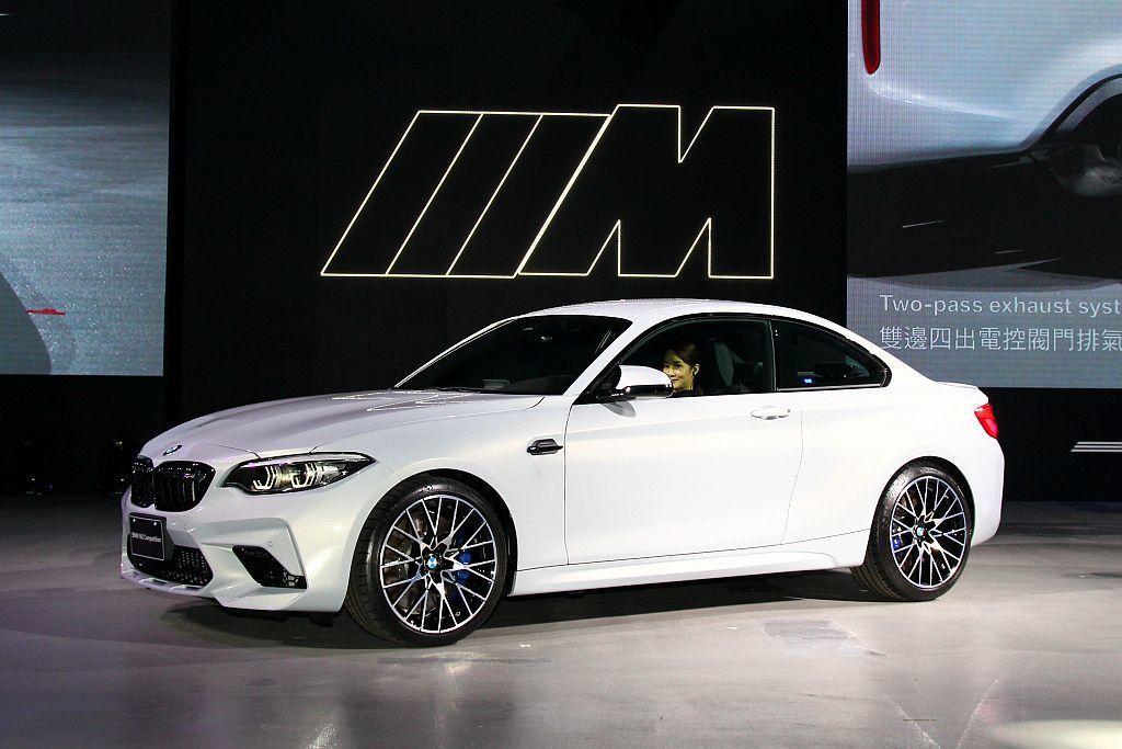BMW M2問世後引發全球操控熱潮,進化車型M2 Competition更具性能...