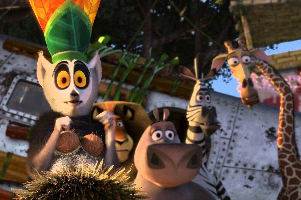 《馬達加斯加》第二集劇照。