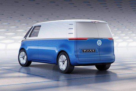 VW I.D. Buzz Cargo電動廂型車最快2021年上市