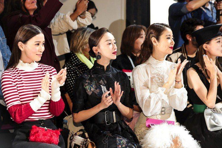 SHIATZY CHEN夏姿· 陳在巴黎時裝周舉行春夏大秀,現場眾星雲集,吳謹言...
