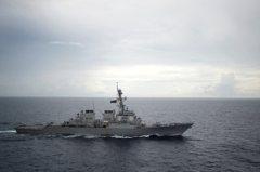 美艦進入南沙海域 陸外交部:強烈敦促美方立即糾錯