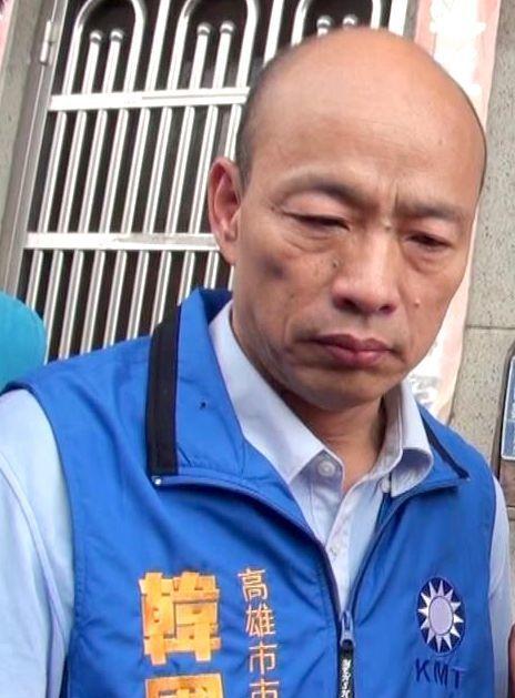 國民黨高雄市長參選人韓國瑜認為競選對手的影片遭變造,不是好現象,民進黨將報警處理...