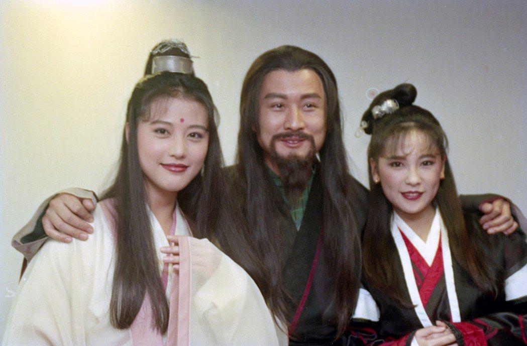 周海媚(左)在1994年版「倚天屠龍記」中飾演「周芷若」。圖/聯合報系資料照