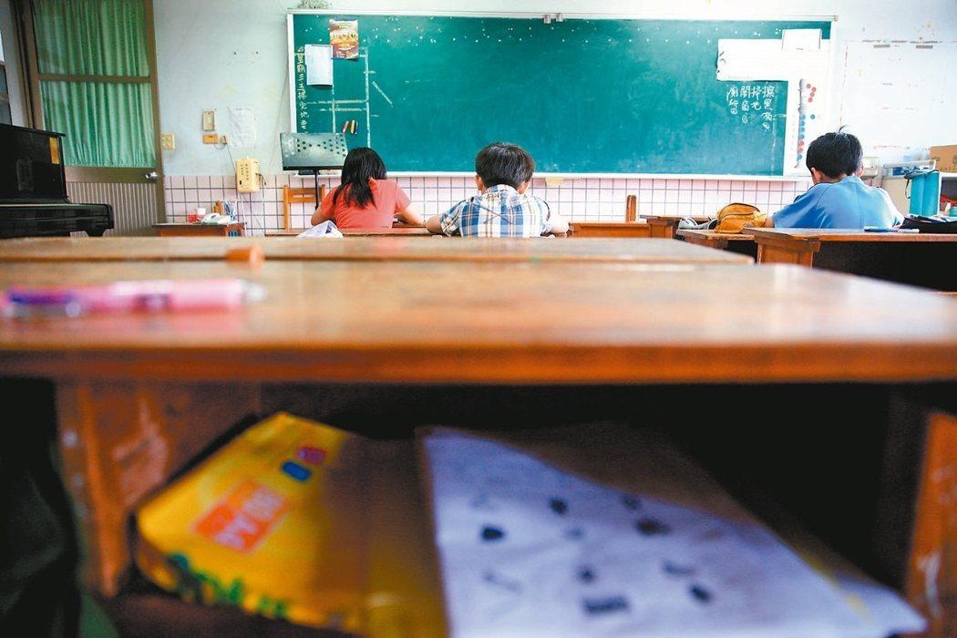 教育部每年投入近10億元在國中小補救教學。 圖/聯合報系資料照片