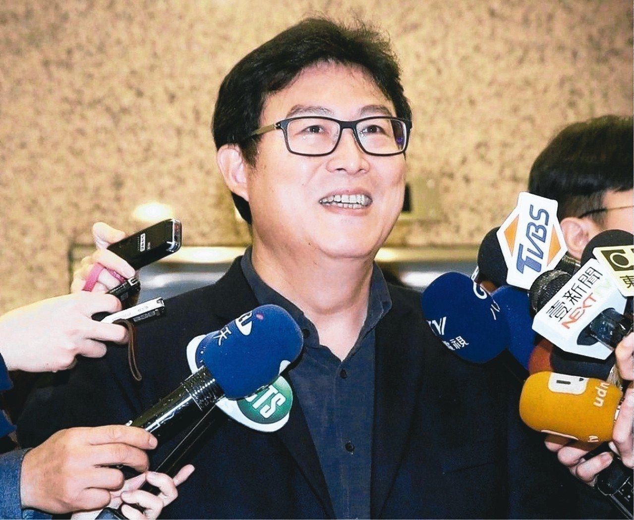 民進黨台北市長參選人姚文智。 圖/聯合報系資料照片