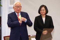 張忠謀出任APEC代表 蔡英文:台灣共識